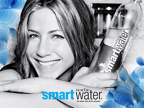 Aniston Cashes In On Her Love For smartwater