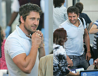 Gerard Butler: First Time Manjoyment-ed