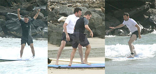 Matt and Ben Get REALLY Excited about Surfing!