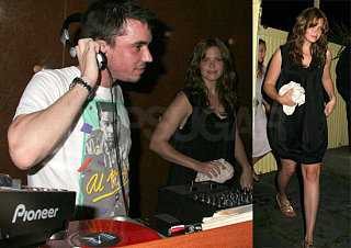 Mandy and DJ AM Reunite in the Hamptons