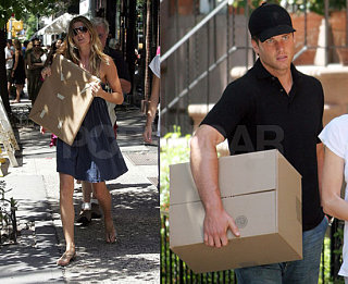 Gisele & Tom Celebrate, Carry Around Boxes