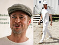 Brad Pitt Wears Many Hats, All Hot