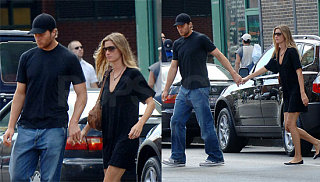 Gisele Plays Nice With Tom's Ex