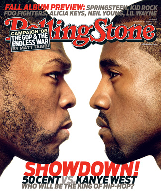 Kanye Vs. 50 Cent: Whose Side Are You On?