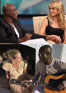 Heidi and Seal Talk Love & Might Sing About It Too