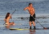 EXCLUSIVE:  Matt and Camilla Make Flames On the Malibu Sea