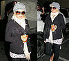 Christina Aguilera Leaves the Doctor's Office in LA