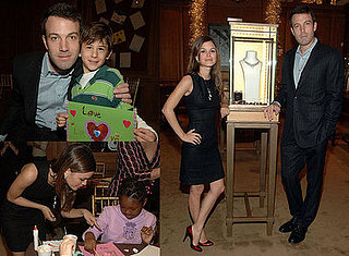 Ben Affleck and Rachel Bilson At Cartier and Art of Elysium Event