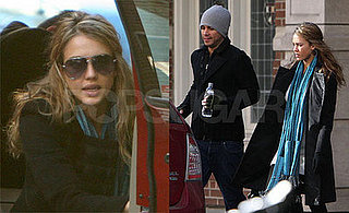 Jessica Alba with Cash Warren in Toronto, Plans to Take a Break from Acting