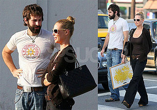 Katherine Heigl and Josh Kelley in LA