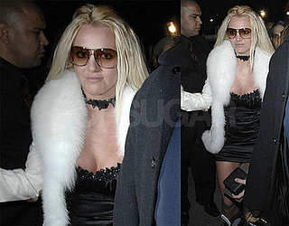 Britney Spears Rings in 26, Scandinavian Style