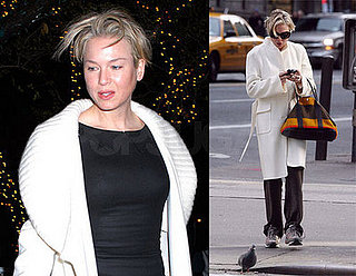 Renee Zellweger in New York City