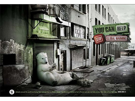 Stop Global Warming Ads