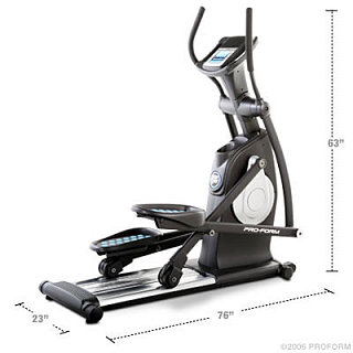 Game Time: ProForm 20.0 CrossTrainer Elliptical