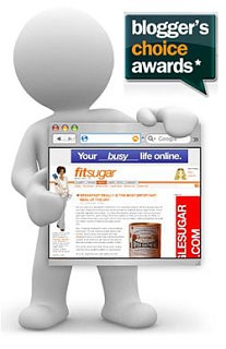 FitSugar Was Nominated for Blogger's Choice Award!!!!