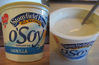 Oh Boy It's O' Soy Yogurt!