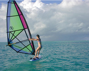 Windsurfing:  It's All About Balance