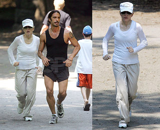 Exercise Flashback: Madonna's Still Jogging