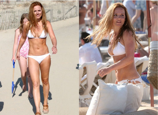 Geri Halliwell's Hard Work is Paying Off