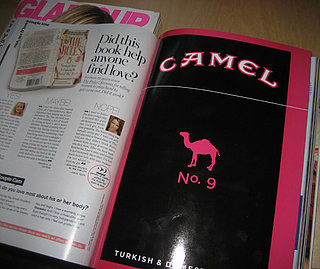Fittingly Mad: Camel Ads in GLAMOUR?!
