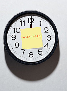 Fit Tip:  Pick a Time to Work Out and Stick to It