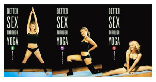 Better Sex Through Yoga DVDs
