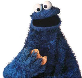 The Cookie Monster Gave Up His Cookies