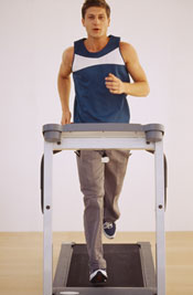 Treadmill Sprint Cardio Workout