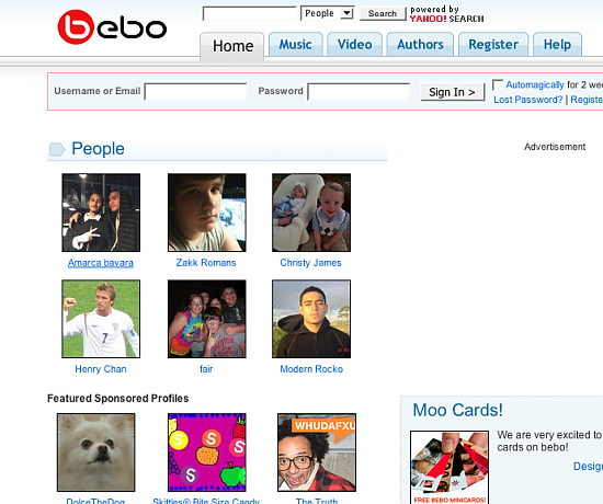 Get All Your Sugar on Bebo!!!