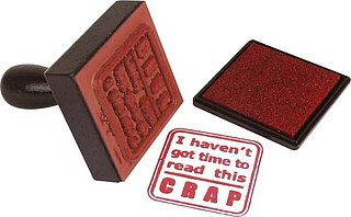 Product of the Day: Abusive Stamps