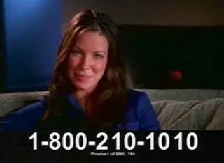 "Flashback: Evangeline Lily in ""Live Links"" Ad"