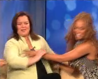 Tyra Gives Rosie A Goodbye Squeeze