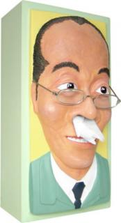 Product of the Day: Nosey Old Man Tissue Box