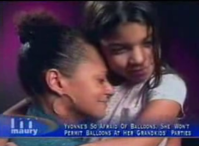 On Maury: Woman Scared Of Balloons