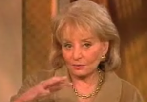 Barbara Walters Needs Public Potty Training