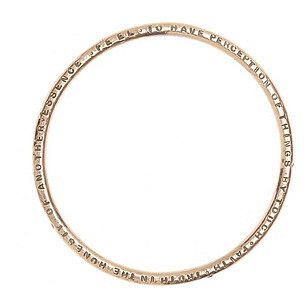 Aurora Lopez Pink Gold Bangle with Gems at Barneys New York