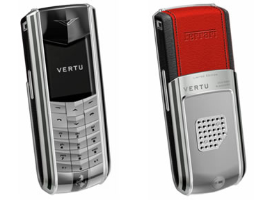 Vertu Ferrari 1947 Cellphone - Get Your Sexy On