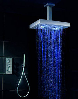 Shower With Colored Lights Shatters My Bathtub Dreams
