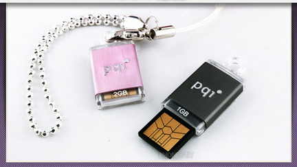 The Itsy Bitsy PQI Intelligent Flash Drive