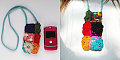 Totally Geeky or Geek Chic? Crochet Rose Cellphone Cozy