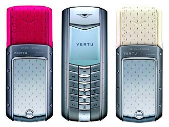 Luxury Strawberries and Cream Editions of Vertu Phone