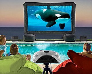 Tech News Roundup - Inflatable Outdoor Theater System