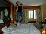 hotel bed jumping 2