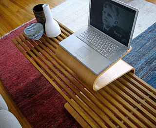 Offi Mag Table: Mod Laptop Desk Option