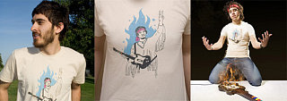 Totally Geeky or Geek Chic? The Guitar Hero Tee Shirt