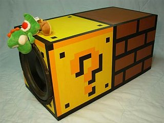 Totally Geeky or Geek Chic? Super Mario Bros. Subwoofer