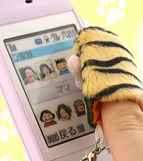 Tiger Paw Cleaning Pad For Cell Phones