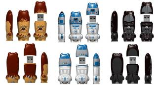 Totally Geeky or Geek Chic? Star Wars Flash Drives