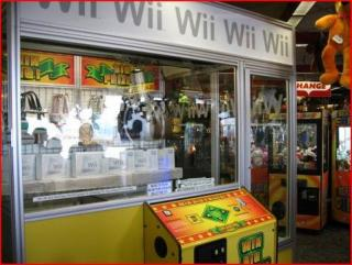 Totally Geeky or Geek Chic? Enormous Wii Crane Game