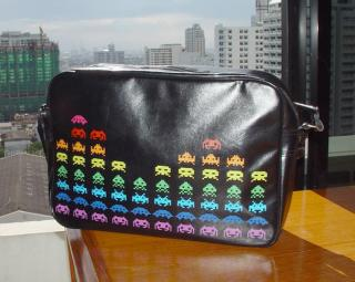 Totally Geeky or Geek Chic? Space Invaders Bag